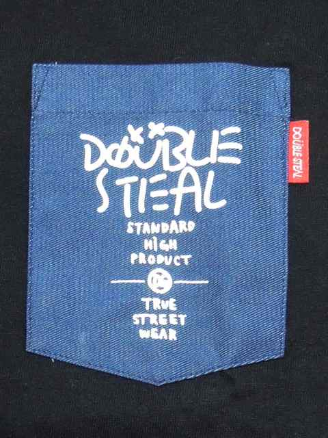 [DOUBLE STEAL] RAKUGAKI POCKET TEE1