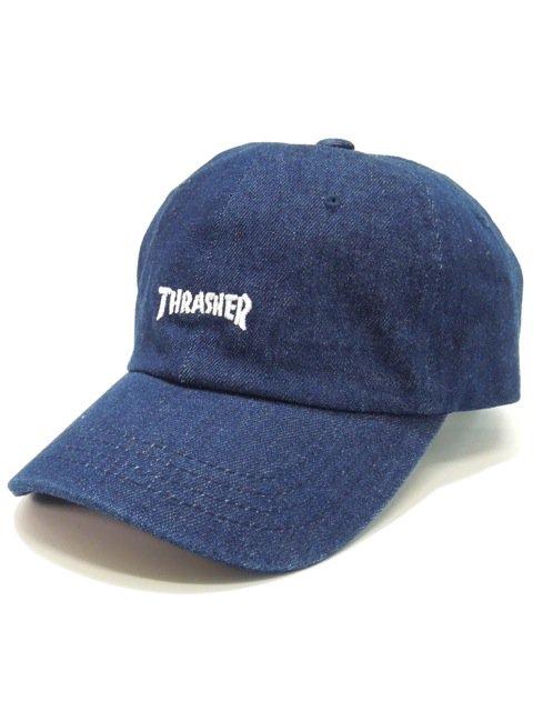 [THRASHER] MAG LOGO LOW CAP(Dk.IN)