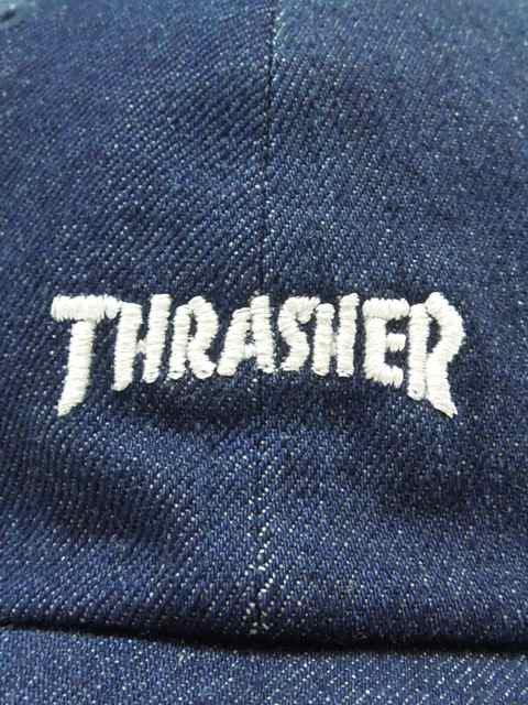[THRASHER] MAG LOGO LOW CAP(Dk.IN)1