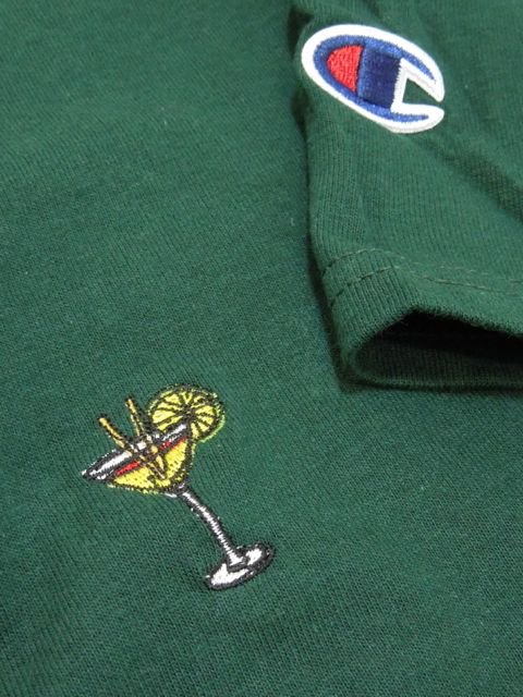 [PROJECT SR'ES] EMBROIDER COCKTAIL CHAMPION TEE1