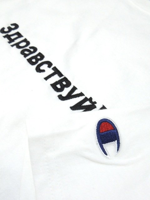 [PROJECT SR'ES] EMBROIDER RUSSIAN CHAMPION TEE3
