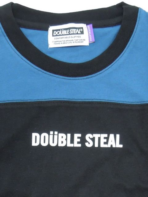 [DOUBLE STEAL] 2LINE FOOTBALL TEE1