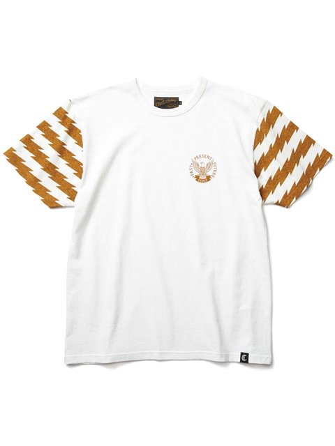[CLUCT] ORIGINAL BORDER COMBINATION TEE(CA)