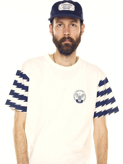 [CLUCT] ORIGINAL BORDER COMBINATION TEE(NV)
