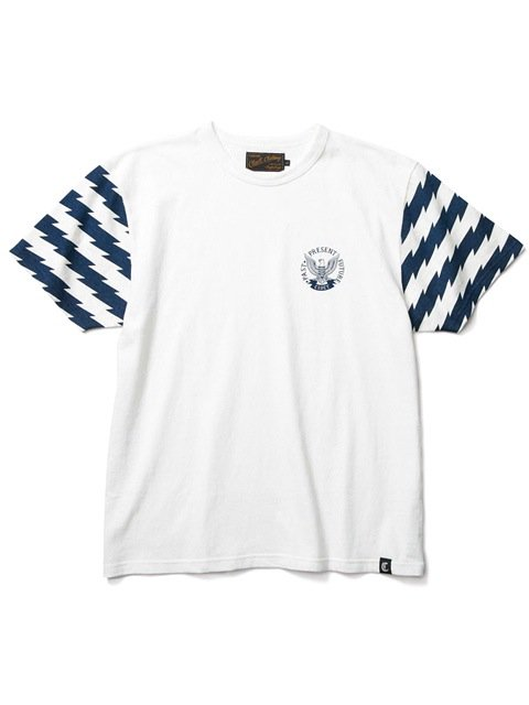[CLUCT] ORIGINAL BORDER COMBINATION TEE(NV)1