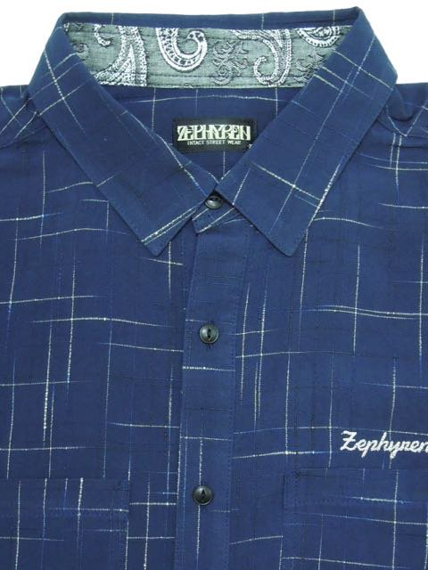 [ZEPHYREN] SPASHED SHIRT S/S -Resolve-2