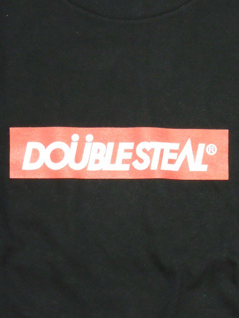 [DOUBLE STEAL] BOX LOGO Tシャツ1