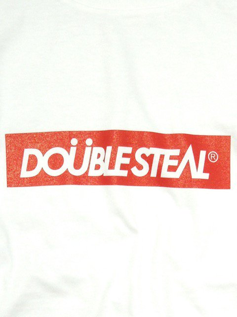 [DOUBLE STEAL] BOX LOGO Tシャツ2