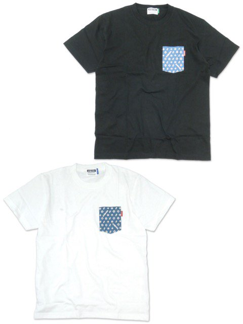 [DOUBLE STEAL] Monogram POCKET TEE