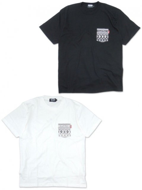 [DOUBLE STEAL BLACK] NATIVE POCKET TEE