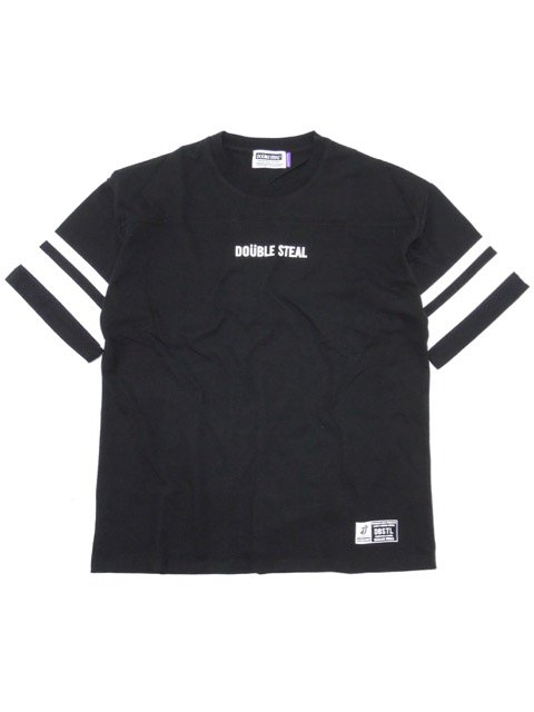 [DOUBLE STEAL] 2LINE FOOTBALL TEE