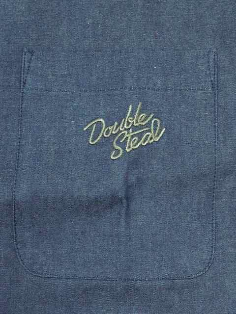 [DOUBLE STEAL BLACK] PARTS PATTERN DENIM SHIRTS1