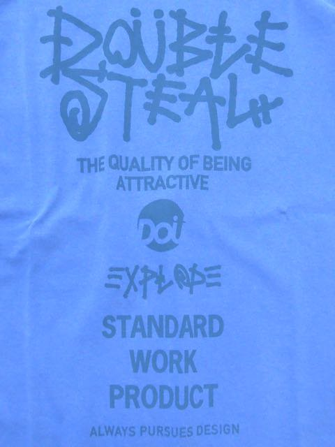 [DOUBLE STEAL] DS WORLD Pigment TEE1