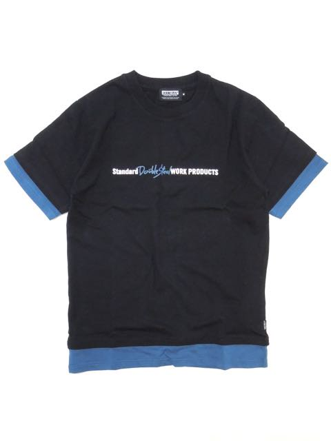 [DOUBLE STEAL] FAKE LAYERED TEE