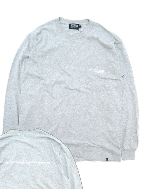 [DOUBLE STEAL] SIMPLE POCKET L/S TEE