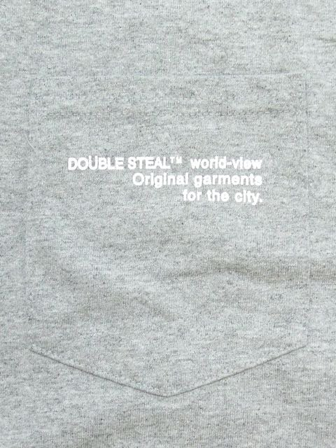 [DOUBLE STEAL] SIMPLE POCKET L/S TEE1