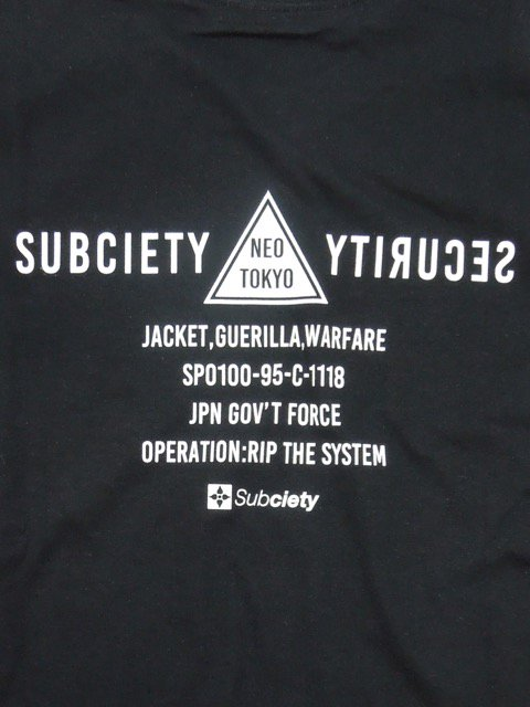 [SUBCIETY] SECTION L/S(BK)2