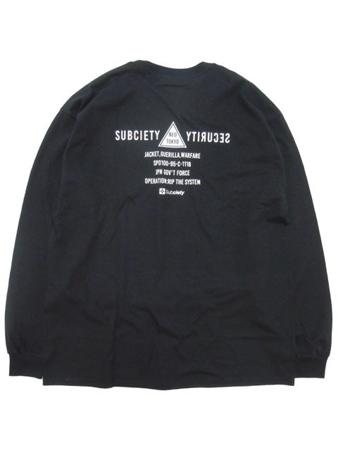 [SUBCIETY] SECTION L/S(BK)3