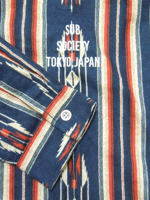 [SUBCIETY] NATIVE SHIRT1