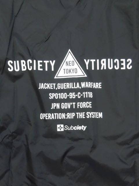 [SUBCIETY] COACH JKT-SECTION-3