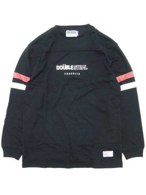 [DOUBLE STEAL] 2LINE FOOTBALL L/S TEE