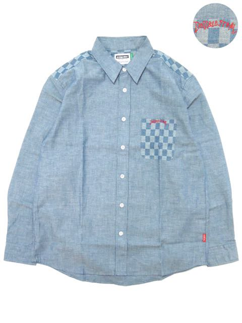 [DOUBLE STEAL] CHECKER SHIRTS