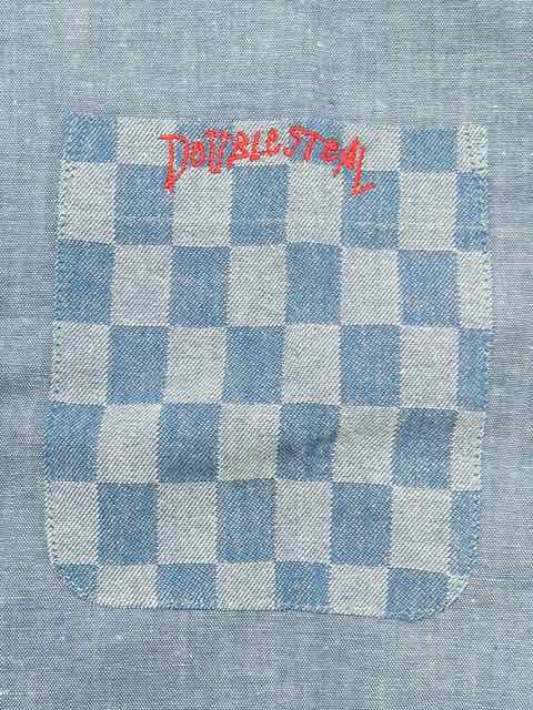 [DOUBLE STEAL] CHECKER SHIRTS1