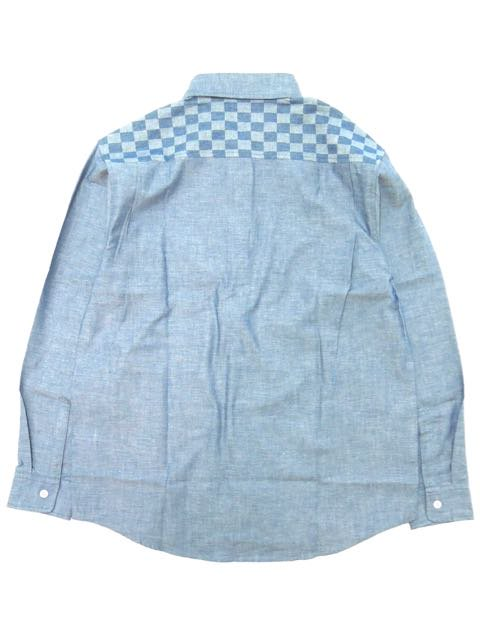 [DOUBLE STEAL] CHECKER SHIRTS3