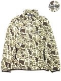[SUBCIETY] CAMO FLEECE JKT(BE)
