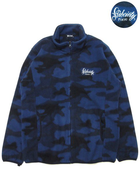 [SUBCIETY] CAMO FLEECE JKT(NV)