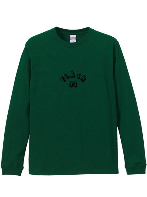 [FLASH POINT] FLASH 95 EMB L/S TEE(GR)