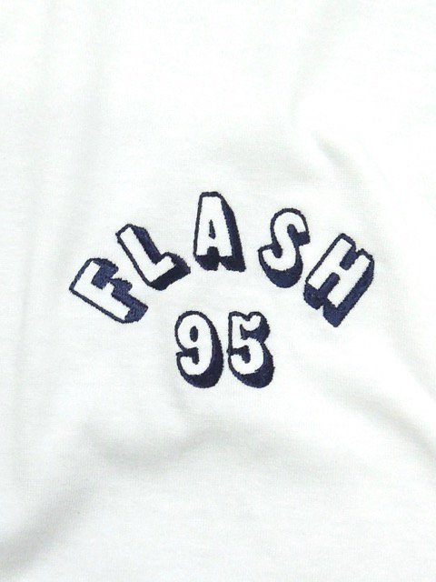 [FLASH POINT] FLASH 95 EMB L/S TEE(WH)1