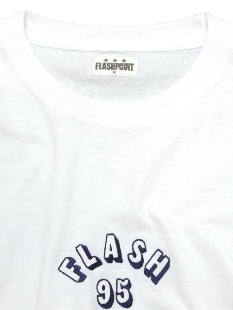 [FLASH POINT] FLASH 95 EMB L/S TEE(WH)2