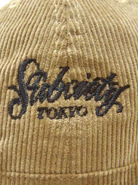 [SUBCIETY] CORDUROY BALL HAT1