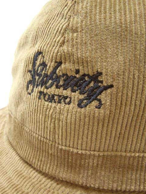 [SUBCIETY] CORDUROY BALL HAT2