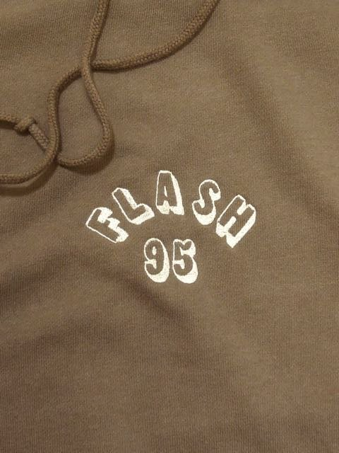[FLASH POINT] FLASH 95 EMB P/O HOODY(BR)1
