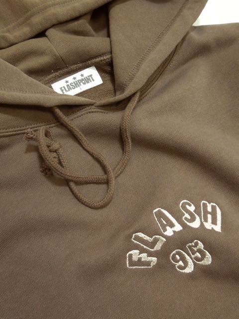 [FLASH POINT] FLASH 95 EMB P/O HOODY(BR)2
