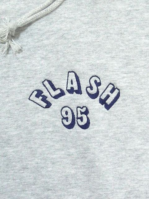 [FLASH POINT] FLASH 95 EMB P/O HOODY(GR)1