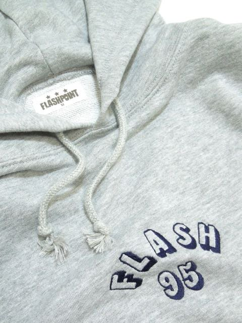 [FLASH POINT] FLASH 95 EMB P/O HOODY(GR)2