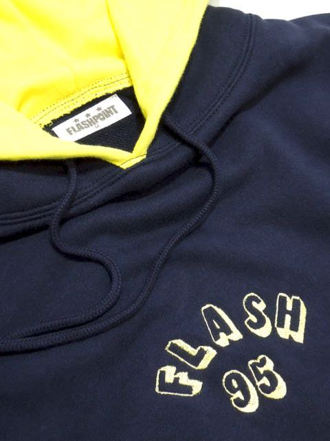 [FLASH POINT] FLASH 95 EMB P/O HOODY(NV)2