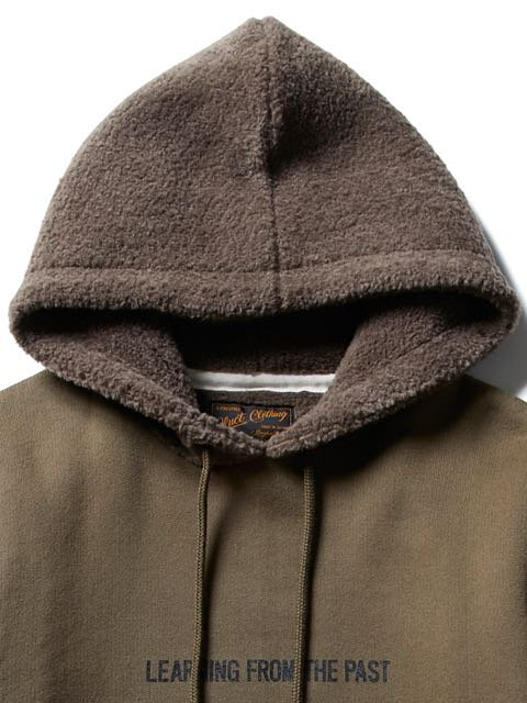 [CLUCT] HOODED BOA PARKA(BR)2