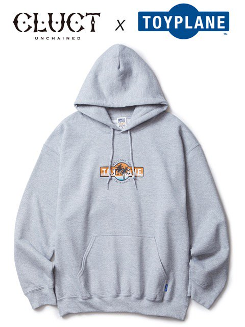 [CLUCT] TOYPLANE × CLUCT LOGO HOOD SWEAT
