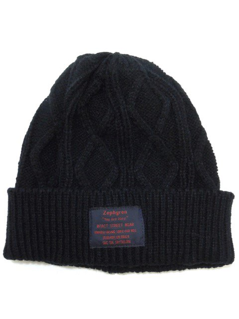 [ZEPHYREN] CABLE BEANIE -You are here-