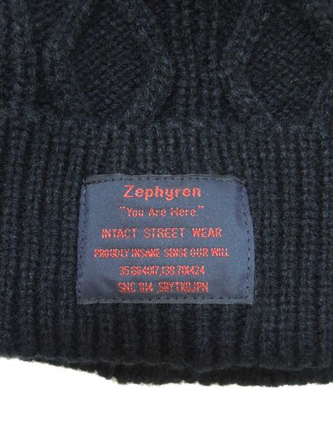 [ZEPHYREN] CABLE BEANIE -You are here-1