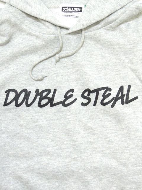 [DOUBLE STEAL] ROUGH LOGO PARKA1
