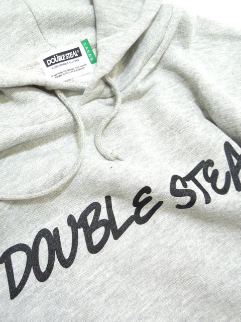 [DOUBLE STEAL] ROUGH LOGO PARKA2
