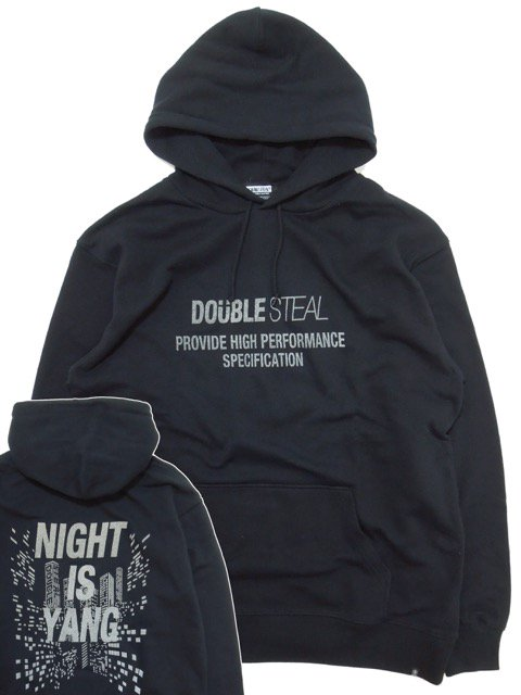 [DOUBLE STEAL BLACK] MIDNIGHT PARKA