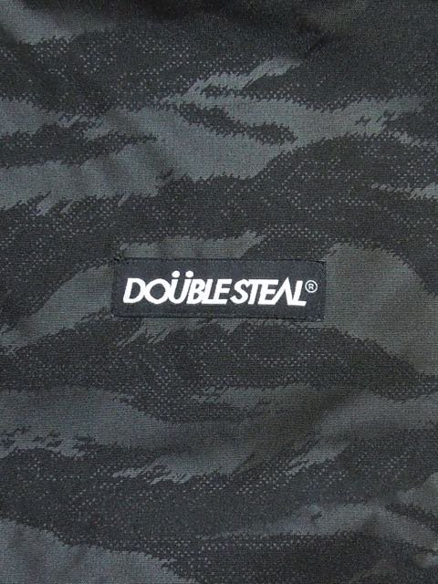 [DOUBLE STEAL BLACK] BLACK CAMO Shell Parka Jacket1