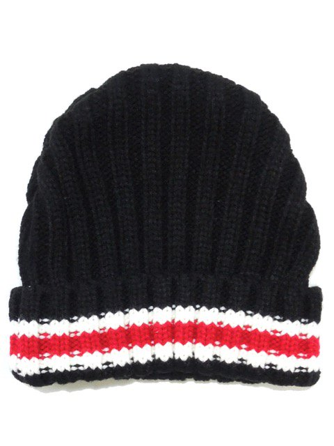 [MISHKA] KEEP WATCH LINE BEANIE3