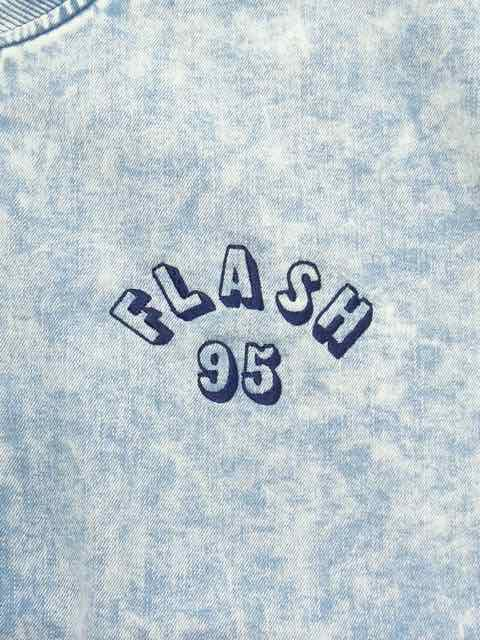 [FLASH POINT] FLASH 95 EMB DENIM MA-1 JACKET1